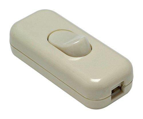 Famatel 4403.1 Interruptor de paso 2A-250V blanco