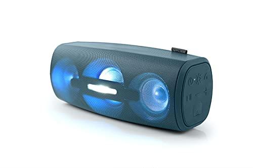 MUSE M-930DJN Enceinte Portable Bluetooth, Mains Libres, Effets de lumière