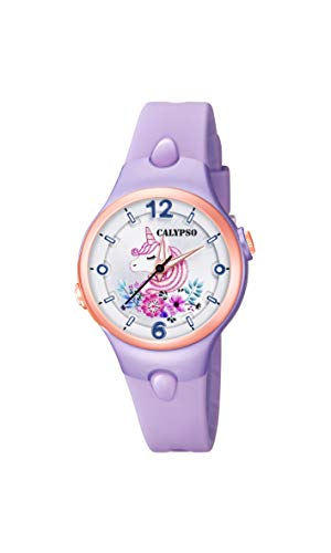 Calypso Orologio Analogico Quarzo Bambina con Cinturino in Plastica K5783/3