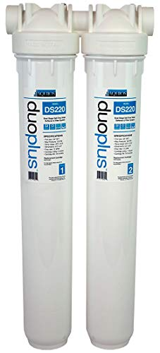 Aquios DS220 Dual Stage Salt Free Water Softener & Filter System