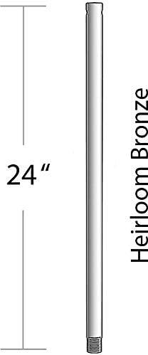 new arrival Minka Lavery lowest Downrod Minka Aire DR524-HBZ Down outlet sale Rod sale