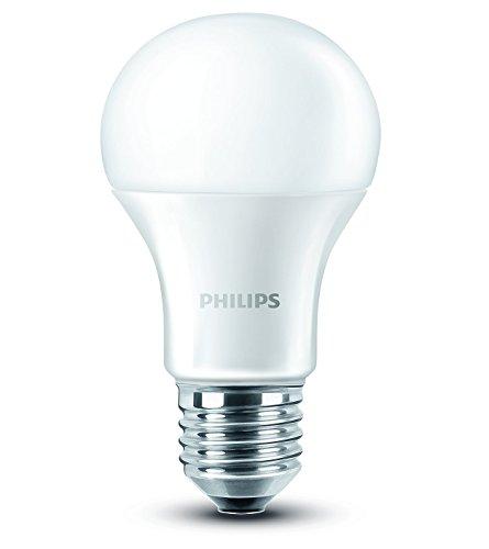Philips Ampoule LED Standard Culot E27 9W Consommés (Équivalent 60W Incandescent) 2700 Kelvin