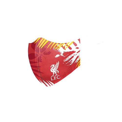 LIVERPOOL FC FOOTBALL EPL PREMIER LEAGUE CHAMPIONSHIP FLORAL SPRING FACE COVERING