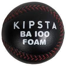 Kipsta BA 100 Foam Baseball - Black Red