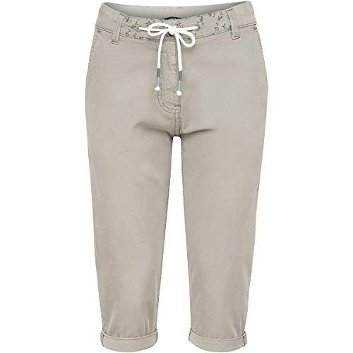 Chillaz Damen Summer Splash 3/4 Shorts, Olive, 40