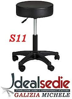 Pavimenti DURI per Sedia Ikea ECC Perno 10 IDEALSEDIE DI GALIZIA MICHELE Kit Ruote per Sedia da Ufficio per PARQUET