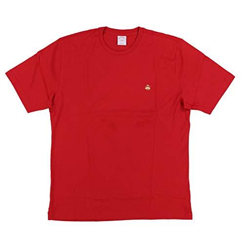 Brooks Brothers Mens Original Crew T-Shirt (M, Red)