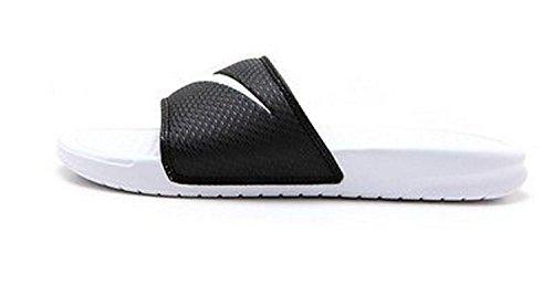 10 USNike Benassi Swoosh. Black 312618-011 Mens shoes size: 10 US