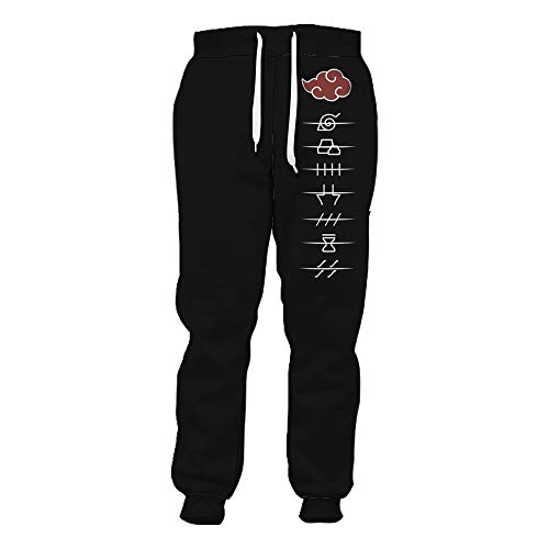 XSKJY Unisex Anime Pants 3D Print Sweatpants Jogging Pants Sport Pant Trousers with Drawstring