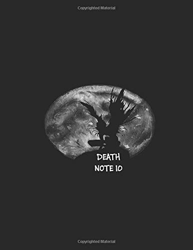 DEATH NOTE 10: Anime, Laughter and joke notebook, 8.5' x 11', 110 Pages, Death Note
