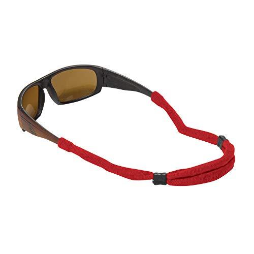 CHUMS Verstellbarer Brillenhalter, ohne Schwanz, Rot