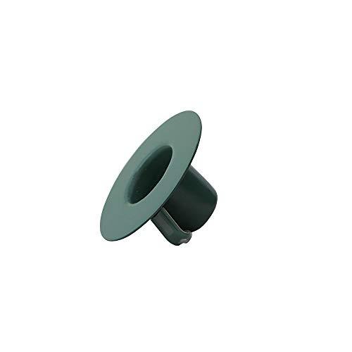 Design Letters Kerzenhalter Einsatz für Espressotassen und Lieblingsvase (Dunkel grün) - Hergestellt in modischen Farben, Einstellbar, Einfach zu säubern, Passend für Kerzen mit ca. D: 2,2 cm.