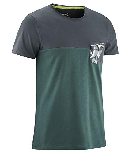 EDELRID Herren Nofoot T-Shirt, Teal Green, XL