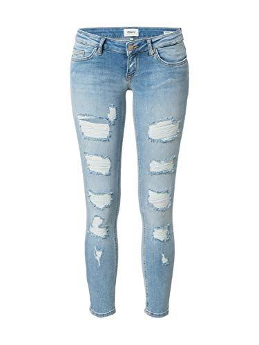 ONLY Damen Jeans Coral hellblau 28