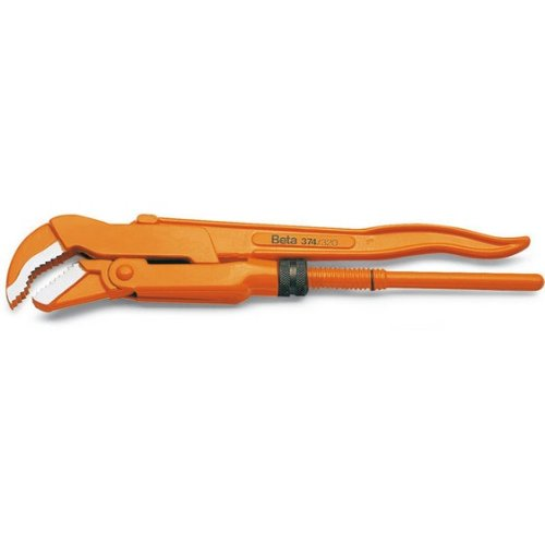 Beta 374 240mm Pipe Wrench with Cheap mail order specialty store Swedish Sale SALE% OFF 45° Pattern Jaws Slim