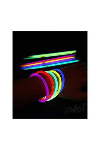 Pack de 100 bracelets fluo Pack de 100 bracelets fluo