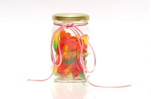 24 Frascos de vidrio para conservas (235 ml) con tapa Twist Off