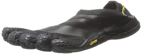 Vibram FiveFingers Mens EL-X Black Athletic Shoes (Black, Numeric_9_Point_5)
