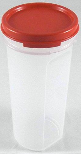 TUPPERWARE Circular Deko Back Zauber Dosen ROT 650 ml für Kaffee Pads - Backzauber für Eidgenossen - 650 ml - H: 17 cm