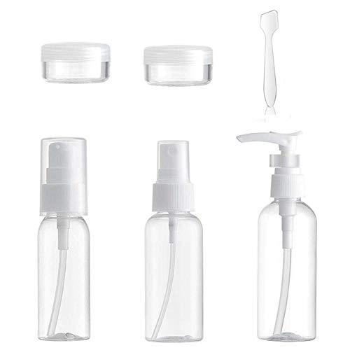 Openg Botes Viaje Avion Kit Viaje Avion Botellas de tamaño de Viaje Contenedores de Viaje Reutilizables Botellas de champú La loción Kit de contenedor