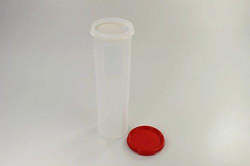 TUPPERWARE Circular 1,1L rot mit Dosiereinsatz Rondovision Trockenvorrat Vorrat