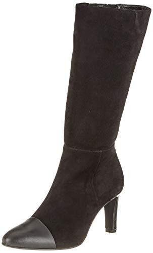 Högl Damen Chanella Boot Hohe Stiefel, schwarz (schwarz/schwarz 0101), 39 EU