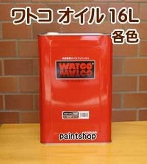 WATOCO 屋内木部用 ワトコオイル 着色 16L W-10 エボニー