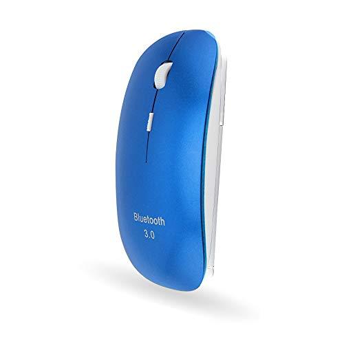 STAR-LINK Mini Kabellos Bluetooth Maus, 2.4G Ultradünne Funkmaus Slim USB Wireless Maus, 800/1200/1600DPI 6 Tasten Schlanke Optische Maus für PC Laptop Computer Android Mac OS Windows Reisen Office