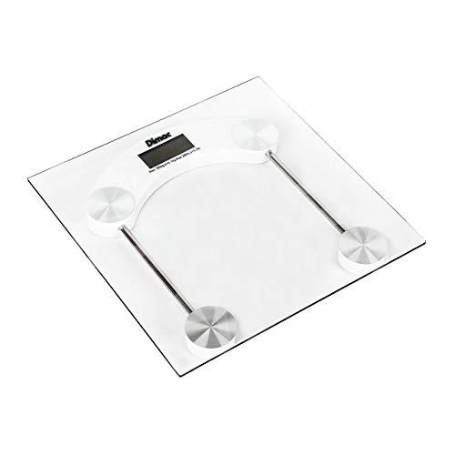 Báscula Para Baño Digital Vidrio Cristal Templado 180 Kg Alta Precisión