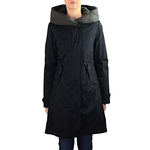 WOOLRICH Luxury Fashion Damen WWCPS2623LM10100 Schwarz Polyester Steppjacke | Herbst Winter 19