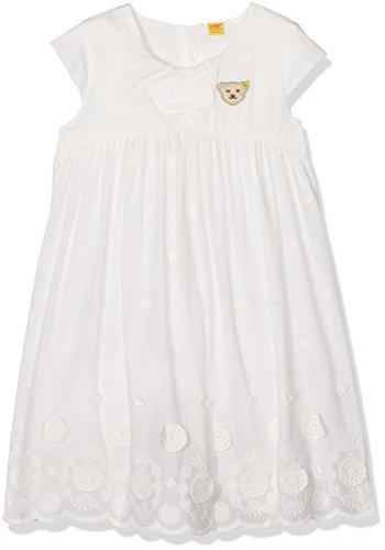 Steiff Baby-Mädchen o. Arm Kleid, Weiß (Cloud Dancer 1610), 56