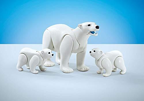 Playmobil Familia de Osos Polares en Bolsa precintada de Fabricante 9833