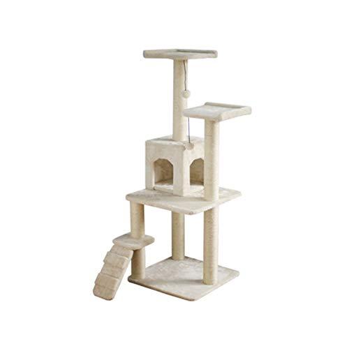 YWAWJ Árbol de Gato de Arena de Arena de Gato de Gato, un árbol de Gato Que no ocupa Kendo de Sisal Interior, Fuerte y Robusto
