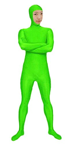 VSVO Green Alien Spandex Zentai Costume