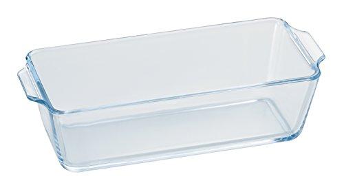 アデリア 耐熱ガラス パウンドケーキ皿 最大23×20×高6cm ベイクック パウンドケーキ 800ml 電子レンジ対応H-3925