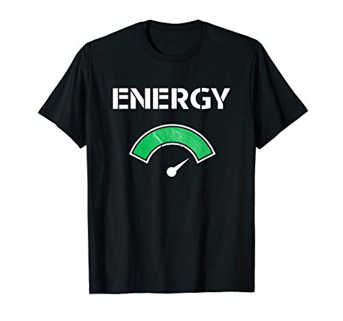 High Energy Design - Great Fitness Workout / Exercise Gift T-Shirt