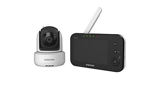 Samsung SEW-3041 - Vigilabebé (CMOS, 3 mm, IR, 300m, 300°, 110°) Negro, Color blanco