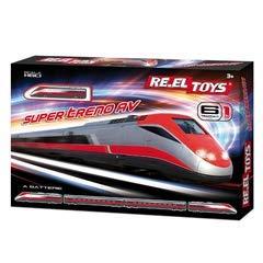 RE.ELTOYS Pista 1:60 Treno Super Treno AV