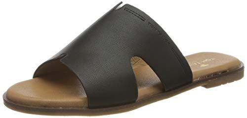 Tom Tailor 8093901, Mules Femme, Noir (Black 00001), 37 EU