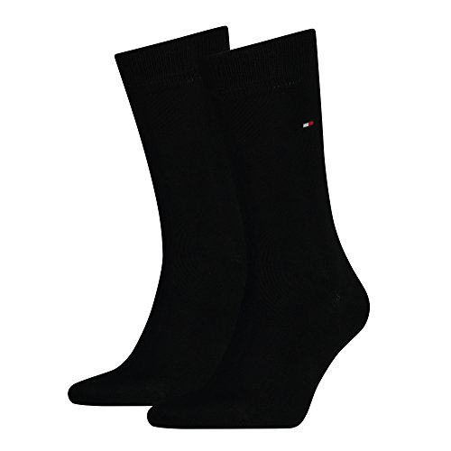 Tommy Hilfiger Socken Classic, Black, 43-46 - 12er Pack/Paar