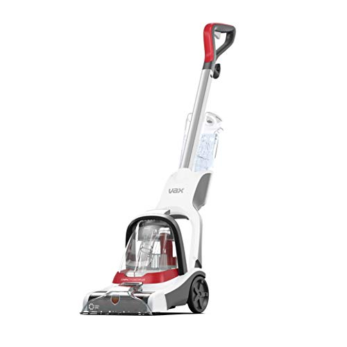 Vax 1-1-142472 Compact Power Plus Carpet Cleaner, White/Red