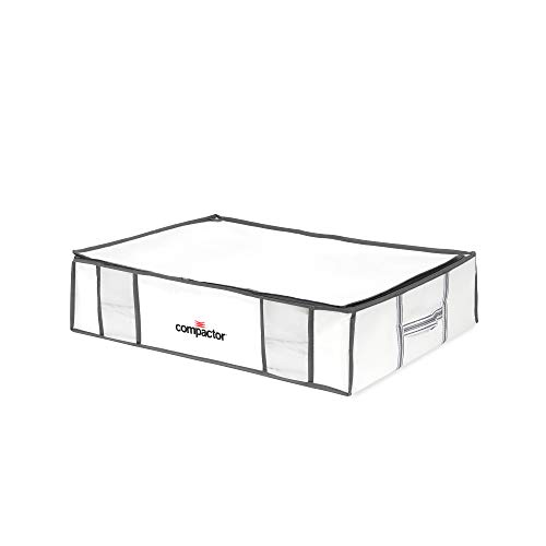 Compactor Life Style - Bolsa de Almacenamiento para Debajo de la Cama al vacío, tamaño Grande, 5 Unidades, Color Blanco y Gris