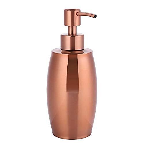 HOOBBI Edelstahl-Handseife Flüssige Lotionspender Home Hotel Bad Zubehör Rose Goldene Shampoo Spender Seife Dispenser- 350ml