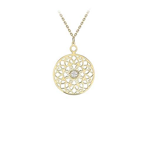 Carissima Gold Collar con Colgante Mujer Oro Amarillo - 1.19.8134