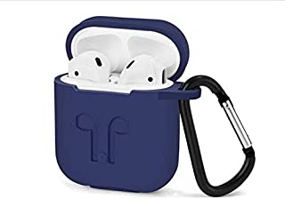Airpods earphone Silicone Case wireless Bluetooth headset Headphone protective sleeve cover