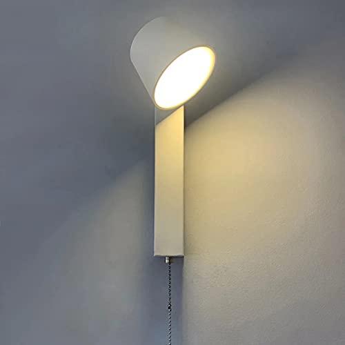 FomTai 7W LED Simplicidad con EL Interruptor DE LA Pared ARRICE Aluminio Lámpara De Pared Interior De La Pared De La Pared del Hogar Lámparas De La Pared del Negocio para La Sala De Estar Dormitorio
