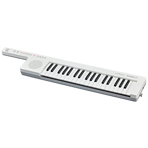 Yamaha SHS-300 Digital Keyboard Sonogenic, Tastiera Elettronica Digitale a Tracolla con MIDI, USB e Bluetooth, Keytar Portatile con Funzione JAM, Bianco