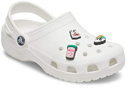Crocs Unisex-Adult Shoe Charms 3-Pack | Personalize Jibbitz, Funny Sayings, S