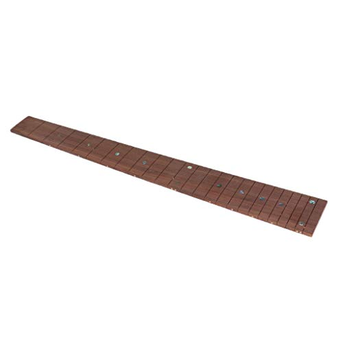 Rosewood Electric Guitar Fingerboard Fretboard Material Luthier Supply - 24 Fret
