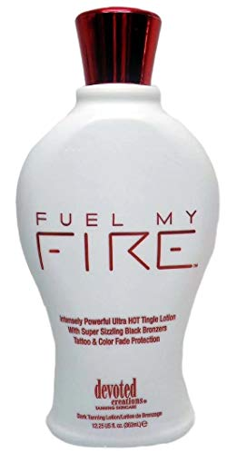 Fuel My Fire Super Sizzling Black Bronzing Lotion 12.25oz